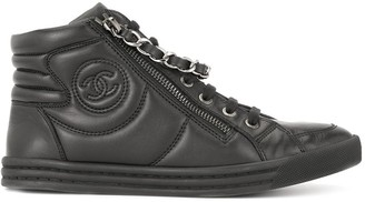 Chanel Pre-Owned CC sneakers shoes