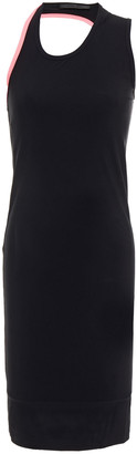 Helmut Lang Asymmetric Cutout Stretch-jersey Dress