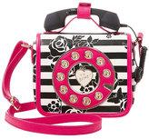 Betsey Johnson Kitsch Must Have Mini Phone Crossbody
