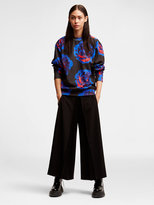 DKNY Viscose Pleated Trousers