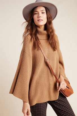 Anthropologie Kali Poncho Sweater