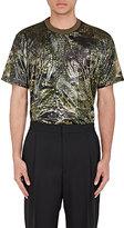 Givenchy Men's Coated T-Shirt-DARK GREEN