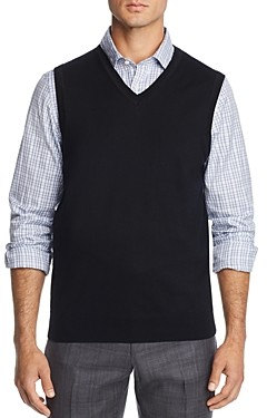 The Men's Store at Bloomingdale's V-Neck Merino Wool Vest - 100% Exclusive