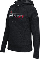 adidas Women's Portland Trail Blazers Color Slant Hoodie