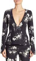 Erdem Women's May V-Neck Jacket