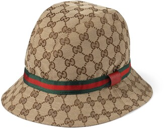 Gucci Children's Original GG fedora
