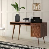 Lietz Solid Wood Desk Mercury Row
