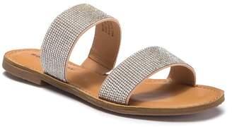 Rock & Candy Studded Slide Sandal