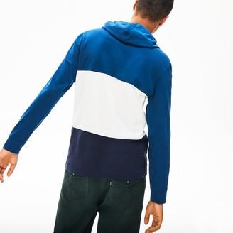 Lacoste Men's Color Block Long Sleeved Sweatshirt