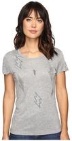 Romeo & Juliet Couture Short Sleeve Lightening Top