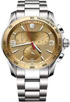 Victorinox Men's Chrono Classic Stainless Steel Watch, 41mm