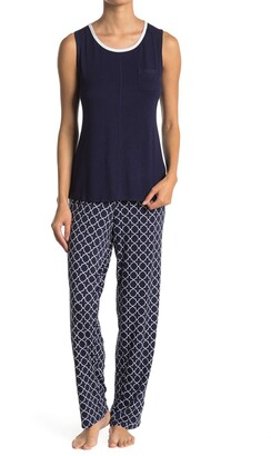 Nautica Shirt & Pants 2-Piece Pajama Set