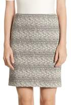 Akris Punto Stretch Jersey Mini Skirt