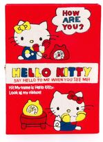 Olympia Le-Tan 'Hello Kitty Book' clutch - women - Cotton/Wool/Brass - One Size
