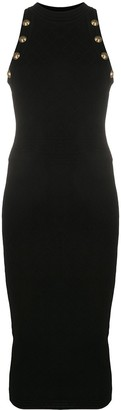 Balmain Diamond Knit Midi Dress