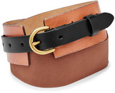Fossil Waist Colorblock Belt