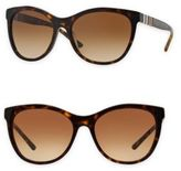 Burberry 0BE4199 58mm Gradient Round Sunglasses