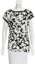 Kate Spade Abstract Print Sleeveless Top