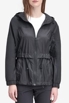 Andrew Marc Penrose Short Hooded Rain Jacket