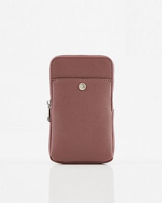 Le Château Faux Leather Crossbody Wallet Bag