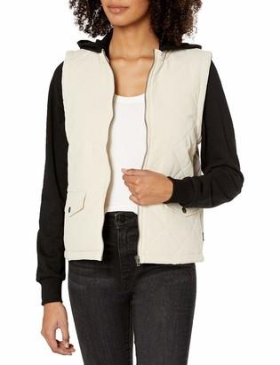 RVCA Junior's Joyride Zip Fleece Jacket