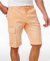 Lrg Men's Big & Tall Surplus Stretch Destroyed Cargo Shorts