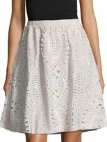 Tart Robin Laser Cut A-Line Skirt