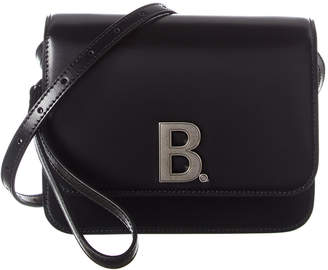 Balenciaga B Small Leather Shoulder Bag
