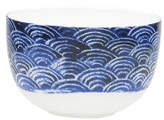 David Jones Shibori Blue Fan Noodle Bowl