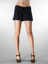 Ruffle Waistband Shorts