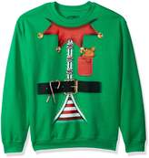 Hybrid Men's Toymakers Suit Elf Holiday Pullover