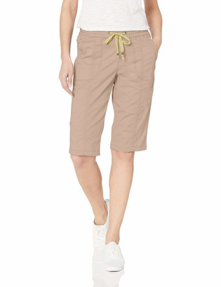 Lee Uniforms Lee Women's Flex-to-Go Relaxed Fit Pull-On Utility Capri Pant