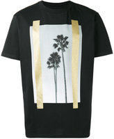 Palm Angels palm trees print T-shirt - men - Cotton - M