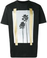 Palm Angels palm trees print T-shirt - men - Cotton - S