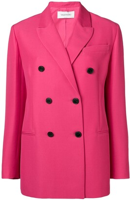 Valentino Double Breasted Tailored Blazer