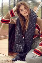 Urban Outfitters Puffer Blanket Scarf