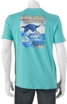 Caribbean Joe Men's Back-Print Key West Tee
