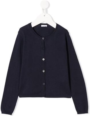 Il Gufo Cotton Long Sleeve Cardigan