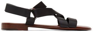 Giuseppe Zanotti Black Liam Sandals