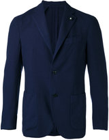 Lardini two button blazer - men - Cashmere - 50