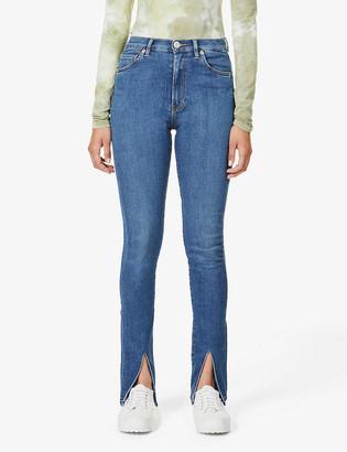 3x1 Kaia skinny high-rise stretch-denim jeans