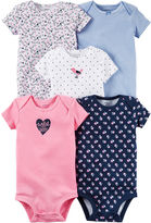 Carter's 5-pk. Bodysuits - Baby Girls newborn-24m
