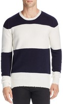 Pringle Wool Vintage Stripe Crewneck Sweater
