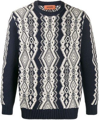 Missoni Chunky Knit Jumper