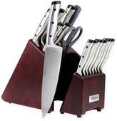 Oneida Pro Series 18-Piece Stainless Steel Knife Block Set