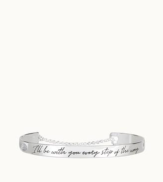 Tod's Gommino Lettering Bracelet