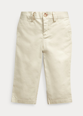 Ralph Lauren Flat-Front Cotton Chino