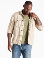 Lucky Brand Linen Platoon Jacket
