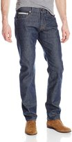7 For All Mankind Men's The Modern Straight-leg Stretch Selvedge Jeans In