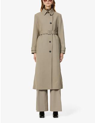 Victoria Victoria Beckham Belted wool-blend trench coat